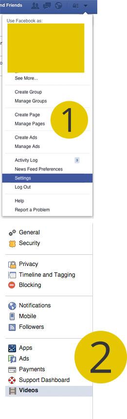 تعطيل خاصية التشغيل التلقائي للفيديو في فيسبوك